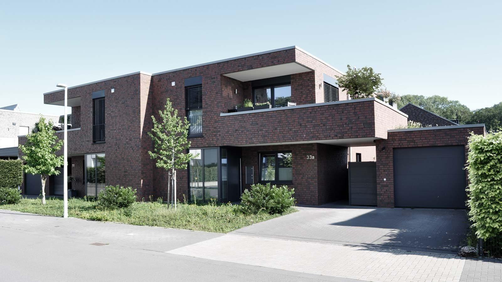Neubau Einfamilienhaus mit Garage in Nordwalde, Holtfrerich Architekten
