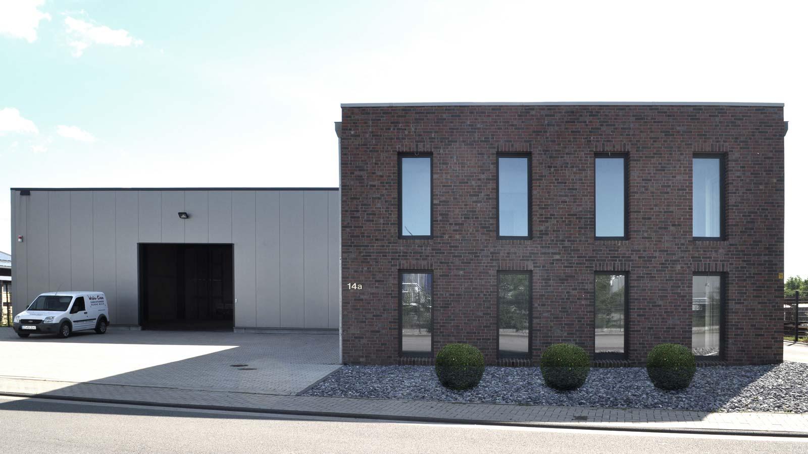 Gewerbebau Firma Post in Nordwalde, Holtfrerich Architekten